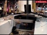 """Nautic 2009 - Le Cavale deux, bateau """"joie de vivre"""""""