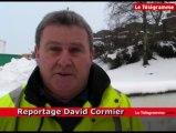 Carhaix (29). Branle-bas de combat pour déblayer la neige