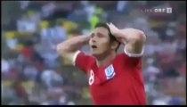 Mondial 2010. Allemagne - Angleterre : le but de Lampard refusé