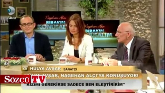 Hülya Avşar ve Nagehan Alçı canlı yayında tartıştı