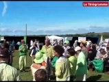 Plonévez-Porzay (29). Manifestation anti-algues vertes à Sainte-Anne-La Palud