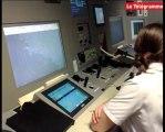 Lorient (56). La tour de contrôle de Lann-Bihoué fait peau neuve