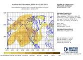 Catastrophe nucléaire. La carte interactive de l'évolution du panache radioactif