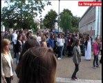 Lorient. Flashmob surprise au lycée Colbert