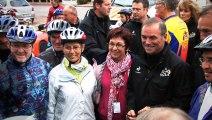 Le départ de Paris-Tours 2013 à Authon-du-Perche