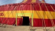5 semaines de montage pour le cirque Pinder sur la pelouse de reuilly à Paris #2