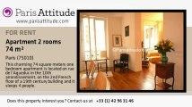 1 Bedroom Apartment for rent - Gare de l'Est/Gare du Nord, Paris - Ref. 1608