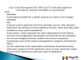 Sap Funds Management(FI-FM) Sap FI Funds Management TECHNICAL ONLINE TRAINING IN AUSTRALIA@magnifictraining.com