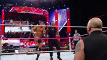 Cody Rhodes & Goldust vs. Seth Rollins & Roman Reigns - WWE Tag Team Title Match_ Raw, Oct. 14, 2013