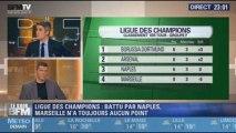 Le Soir BFM: Ligue des Champions: battu par Naples, Marseille n'a toujours aucun point - 22/10 3/5