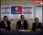 Vannes. Tour de France UMP de Copé : passage par le Morbihan