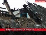 Saint-Brieuc (22). Incendie rue Quinquaine : les dégâts en images
