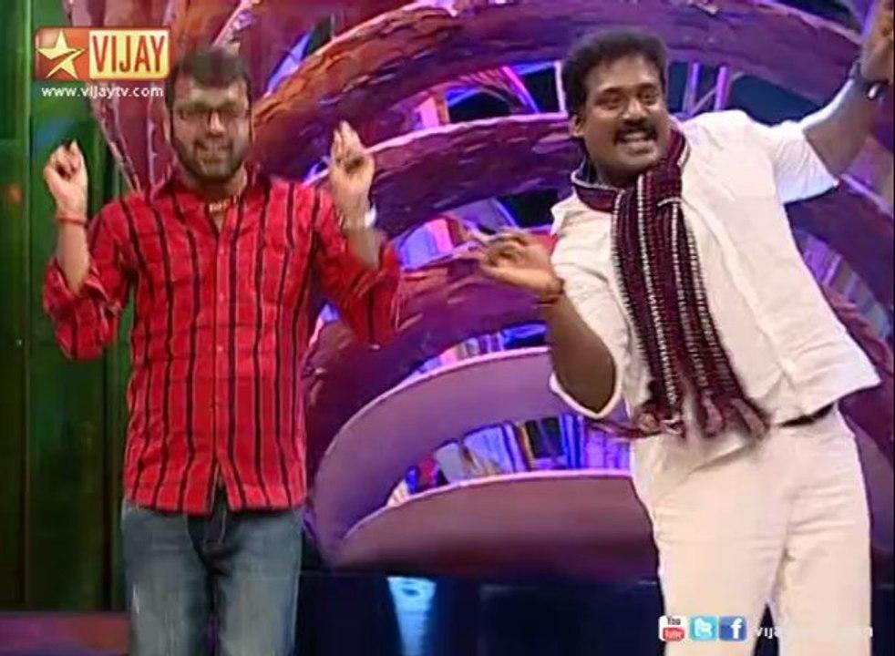 Special performance by Balaji and Robo Shankar