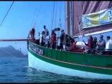 Entre Terre et Mer. Ballet de bateau dans la baie de Morlaix