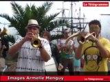 Paimpol. Débuts en fanfare au festival du Chant de marin