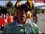 Vannes (56). Des Martiens sur le parcours du marathon !