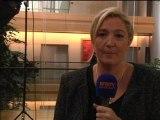 """Marine Le Pen: """"le pêché mortel en matière de comptes de campagne, c'est la dissimulation"""" - 23/10"""