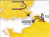 Cyclisme: découvrez le tracé du Tour de France 2014 - 23/10