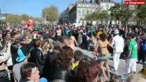 Nantes. Grosse foule et grosse ambiance au carnaval
