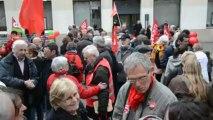 Saint-Brieuc. Le Front de gauche bat le pavé de la rue Saint-Guillaume