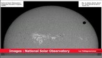 Astronomie. Les images du passage de Vénus devant le soleil