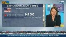 Baisse du taux de chômage US, les chiffres décevants de l'emploi, Apple et Netflix: Cécile Imbert, dans Intégrale Bourse - 23/10
