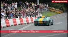 Saint-Brieuc.  Coupe Florio : défilé de voitures anciennes