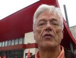 Lamballe. Manifestation contre l'ouverture de Carrefour Market le dimanche