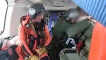 Audierne (29). Evacuation médicale d'un marin de l'Arche Alliance