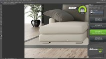 Démo 04 : Mise en ambiance d'un canapé sous Photoshop CS6