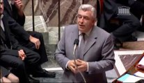 F. Cuvillier répond à la QAG de François-Xavier Villain sur la politique européenne en matière de transport