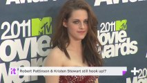 Robert Pattinson & Kristen Stewart Still Hook Up!?