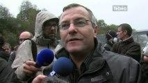 Ecotaxe : 350 personnes mobilisées au Pont-de-Buis