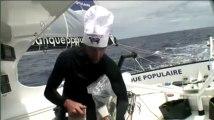 Vendée Globe. Armel Le Cléach, chef-skipper