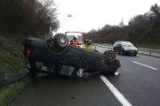 Spectacualire accident sur la RN12