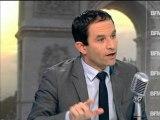 """Hamon chez Bourdin:""""le Medef, c'est le syndicat qui dit non à tout"""" - 24/10"""