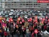 Saint-Brieuc. 700 manifestants contre la réforme de l'emploi