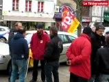 """Morlaix. Une centaine de manifestants contre l'accord sur """" la sécurisation de l'emploi et des parcours"""""""