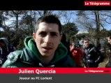 FC Lorient. Les joueurs visitent le futur centre d'entraînement