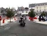 Quiberon. La grande parade des motards