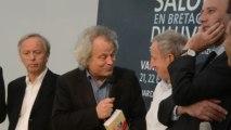 Vannes. Salon du livre en Bretagne : Yann Queffélec rafle deux prix