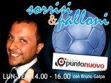 "Soccermagazine, Emanuele Celeste in ""Sorrisi e Palloni"" su Radio Punto Nuovo - 24/10/13"
