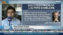 Le titre Suez Environnement progresse: Chicuong Dang dans Intégrale Bourse – 24/10