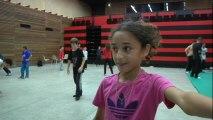 Hip Hop : 23 jeunes danseurs en stage avec le chorégraphe du Crew Vagabond et le réseau Hip hop LR