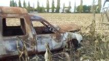 Beauvais : trois voitures brûlées retrouvées dan un champs