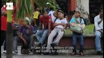 Calle 13 participa de campanha contra a exploração infantil na América Latina.
