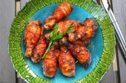 Bacon-Wrapped Chicken With Tamarind BBQ Sauce Glaze