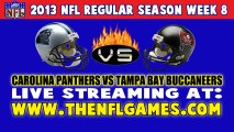 Watch Carolina Panthers vs Tampa Bay Buccaneers Live Streaming Game Online