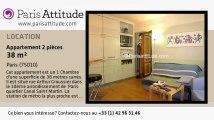 Appartement 1 Chambre à louer - Canal St Martin, Paris - Ref. 2323