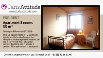 2 Bedroom Apartment for rent - Boulogne Billancourt, Boulogne Billancourt - Ref. 4543